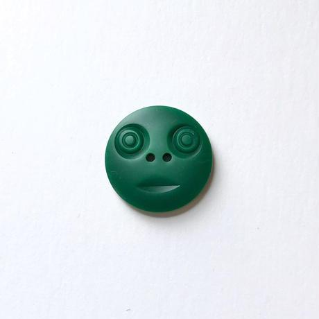 スマイルボタン ( Lサイズ エメラルド)