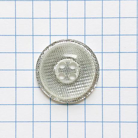 サンドウィッチボタン (Φ18mm シルバー)