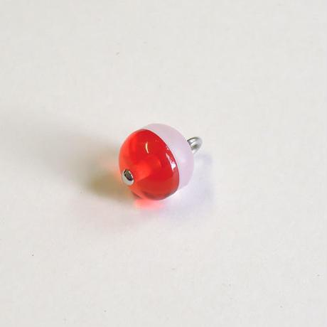 ラウンドボタン(JB545067 レッド×ベビーピンク)