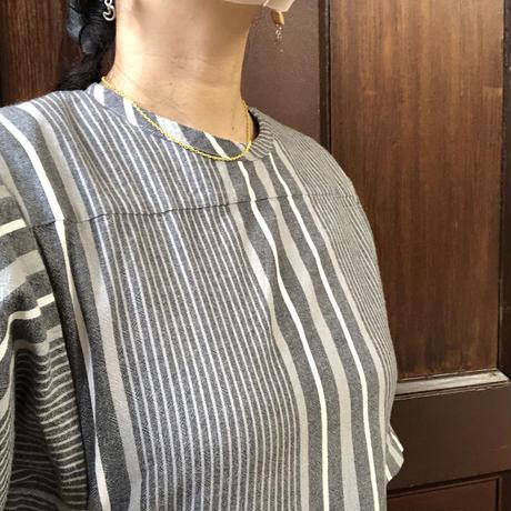 カラーアズキチェーンネックレス(ホワイト)【40cm】