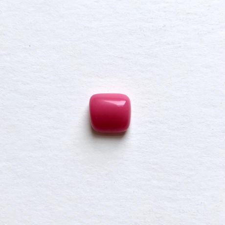 変形スクエアビーズ(FJ207 ピンク) 【3個セット】