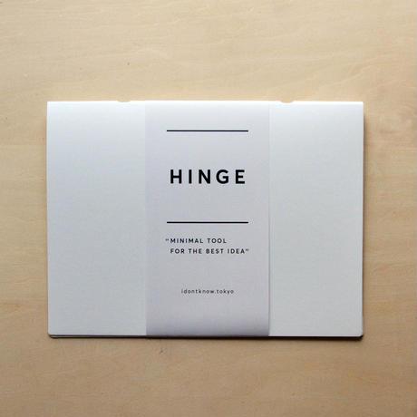HINGE white