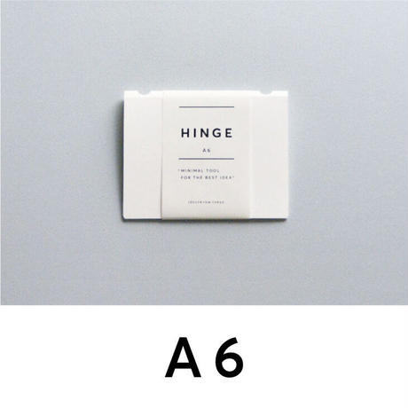 HINGE A6 white