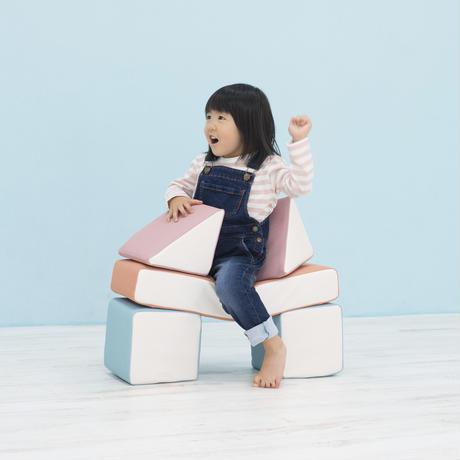 PLAYクッション おうちセット パステル(サイドカラー)