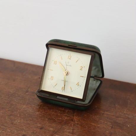 【古道具236】 レトロな三角置き時計