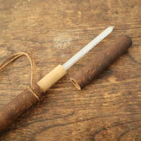 【古道具260】木製ケースに入ったレトロな温度計