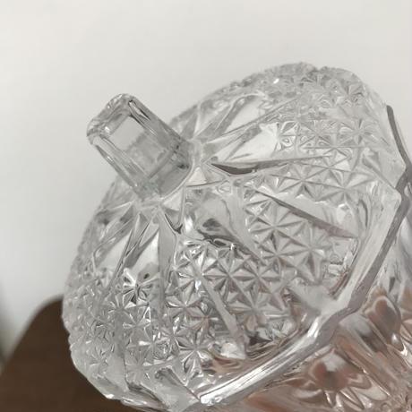 【古道具200】  レトロなガラスポット