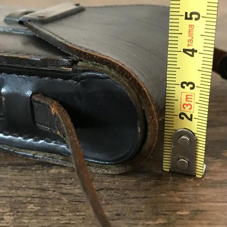 【古道具89】ビンテージ 革カメラケース