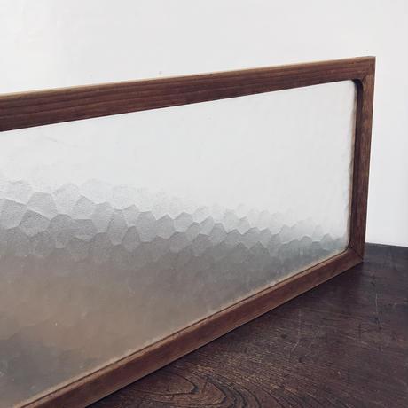 【古道具199 】レトロ摺りガラスの建具