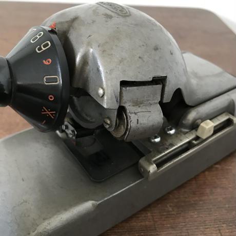 【古道具170】 NIPPO  チェックライター BK Type