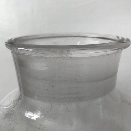 【古道具162】古い 大きな ガラス瓶