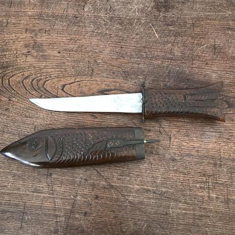 【古道具134】 魚型 ビンテージナイフ