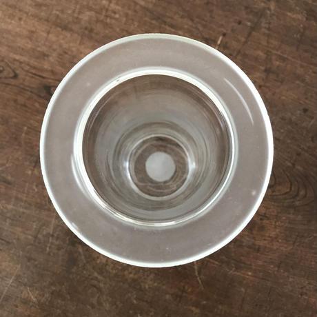 【古道具160 】ガラス 筒型  YAZAWA レトロ アンティーク