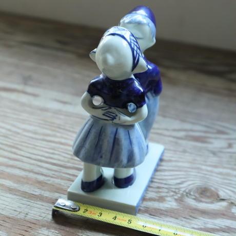 【古道具251】デルフト オランダ 陶人形 HANDPAINTED DELFTSBLAUW 633