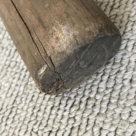 【古道具159】古い 木槌  古民具