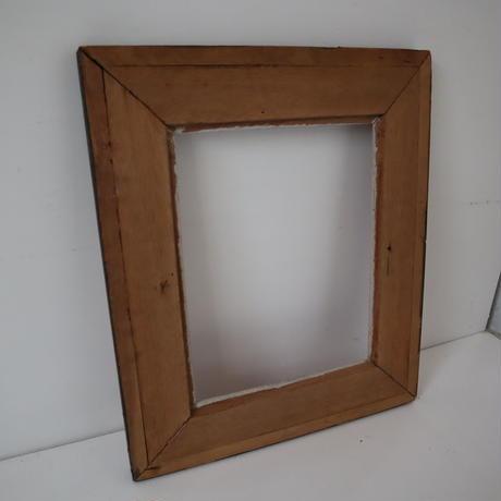 【古道具233】  木彫デザイン   ウッドフレーム