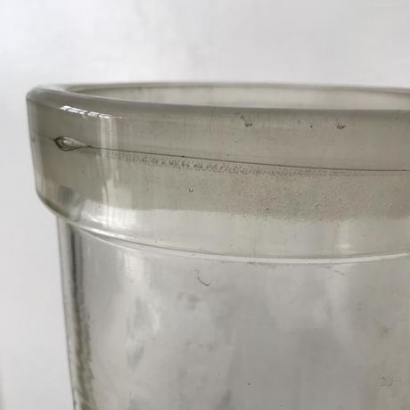 【古道具197】   古いガラスの筒型花瓶