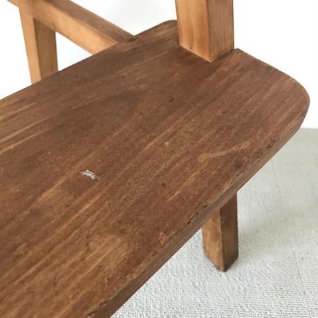 【古道具157】木製 踏み台 レトロ