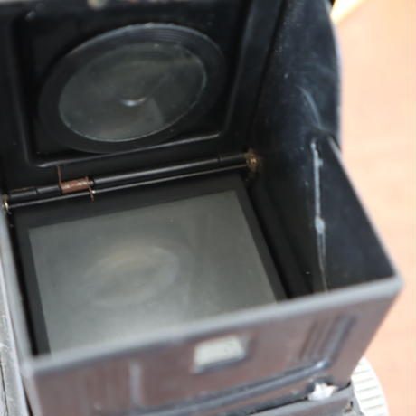 【古道具240】2眼ビンテージカメラ  BEAUTY FLEX