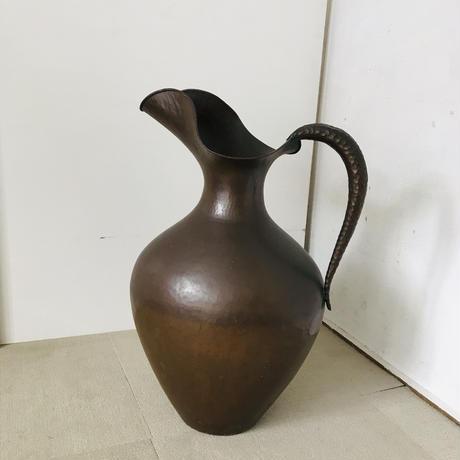 【古道具182】  イタリア ヴィンテージ 銅製 ピッチャー