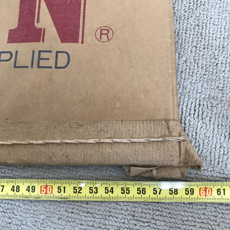 【古道具158】 希少 EDWIN 紙袋 ビンテージ 全長157cm