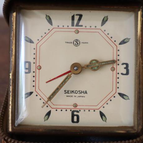 【古道具237】針がかわいい SEIKOSHA レトロ 時計