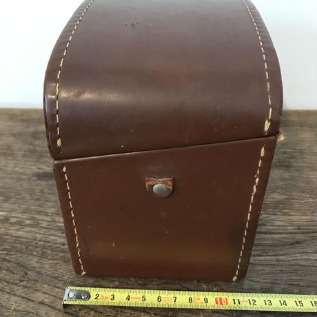 【古道具88】ビンテージ 革カメラケース Bell&Howell