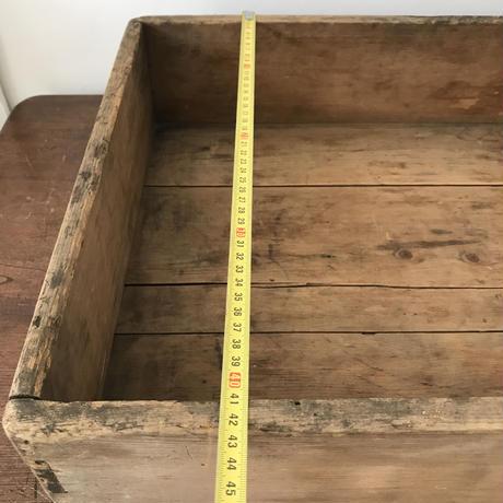 【古道具152】ばんじゅう /番重 古木材 什器