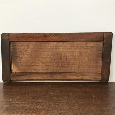 【古道具196 】木製の小扉 2枚組