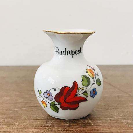 【古道具246】東欧ハンガリー Kalocsa  こぶりな花瓶