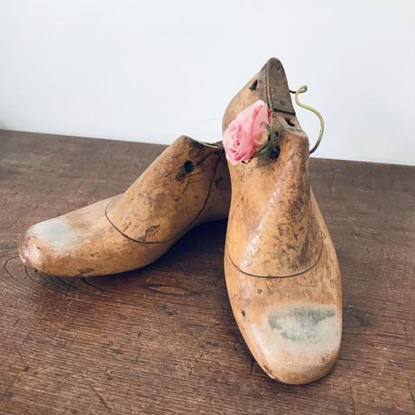 【古道具140】アンティーク 木靴型