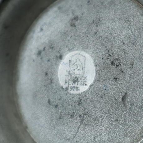 【古道具255】ピューター/錫製 ビンテージマグ TUMASEK PEWTER