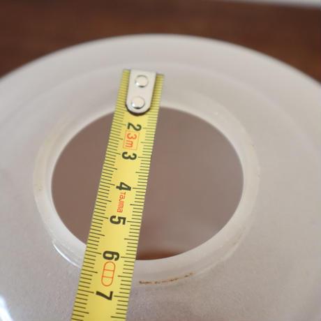 【古道具211】上品な丸みの摺りガラスシェード
