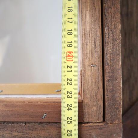【古道具234】  木彫デザイン   ウッドフレーム
