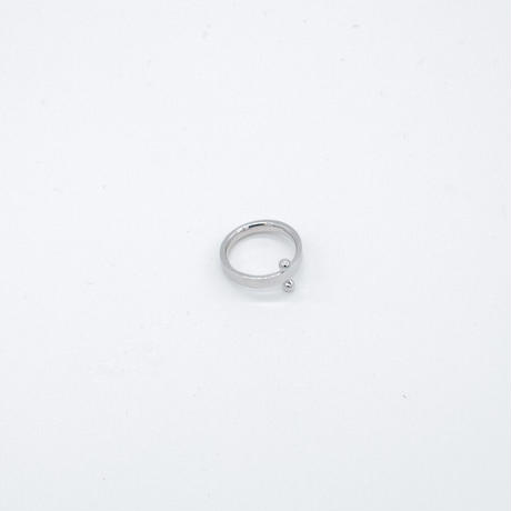 ring / SV925 double ball - /R