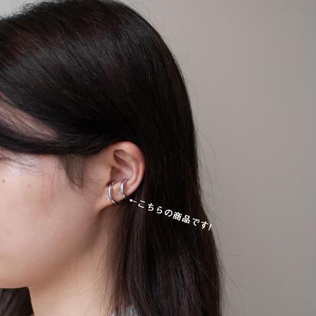 ear cuff/ Silver925 - simple 3mm / R