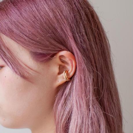 ear cuff/ SV925 - simple 3mm / 18G