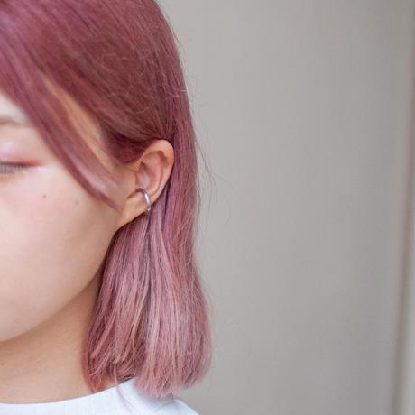 ear cuff/ SV925 - simple 3mm / R