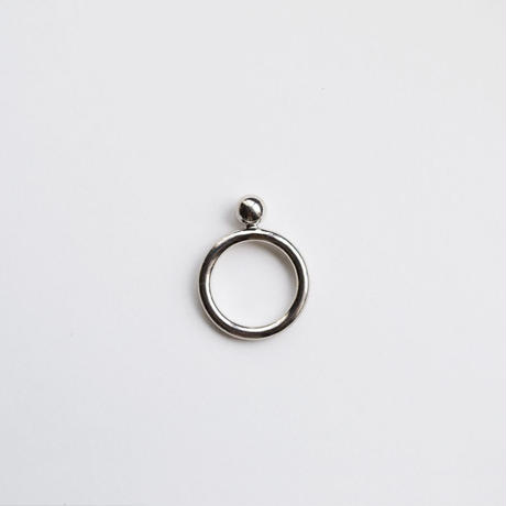 ring [metal] (ball/silver) [受注制作]