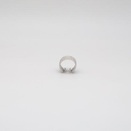 ear cuff/ SV925 - diamond dust 13mm / R