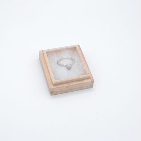 ring / SV925 diamond dust - AL/R