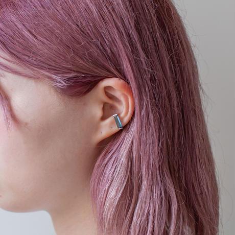 ear cuff/ K10YG - ロンドンブルートパーズ