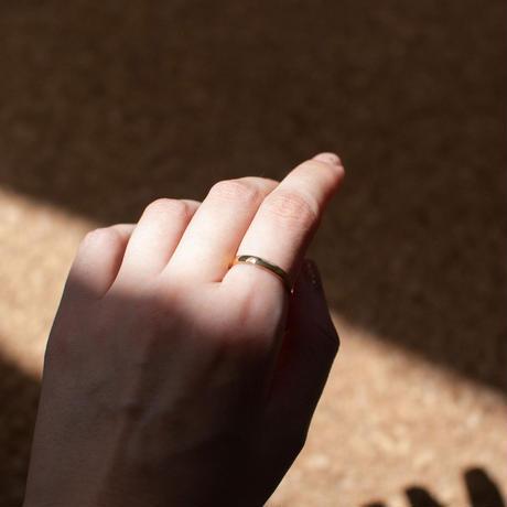 ring / SV925 simple thing -KM/18G