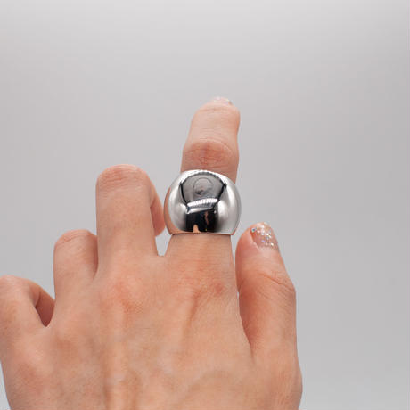 ring / SV925  the world is mine - /R