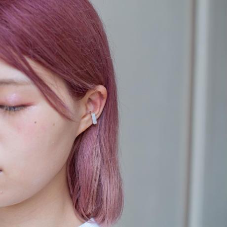 ear cuff/ K10YG -白蝶貝
