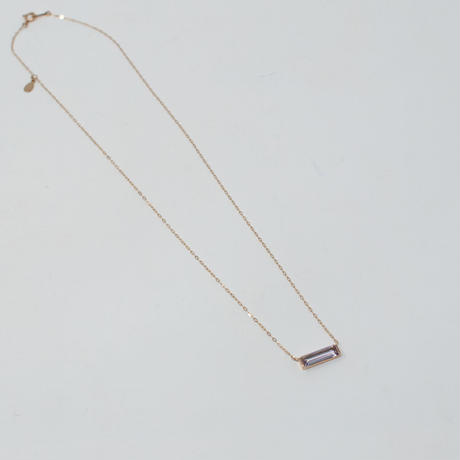 necklace A / K10YellowGold - ピンクアメジスト