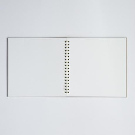 箔のスケッチブック(金屑)