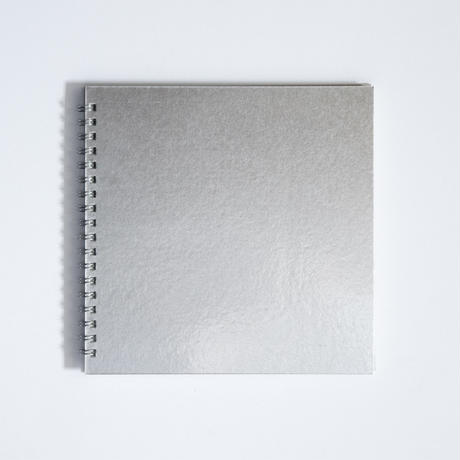 METAL LEAF SKETCHBOOK - silver