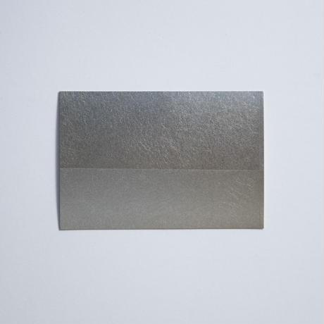 箔のハガキ(錫)