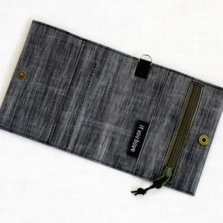 Wallet 2  LS21 Black Heather